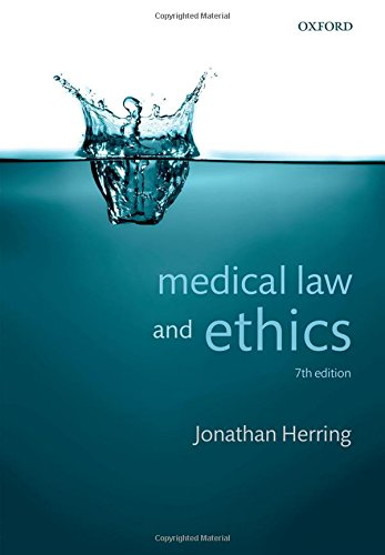Medical Law and Ethics por Jonathan Herring