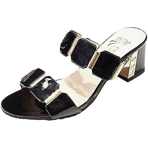 Transer® Sandali da Spiaggia Boemia Signore Sandali Estivi Donna con