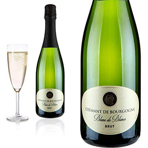 Crémant de Bourgogne Blanc de Blanc Cave d\'Azé Schaumwein