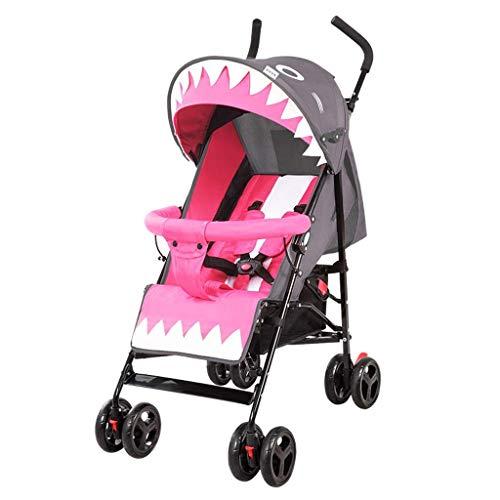 LTTLTT Kinderwagen, Ultra-Light Portable kann den Kinderwagen sitzen und Falten