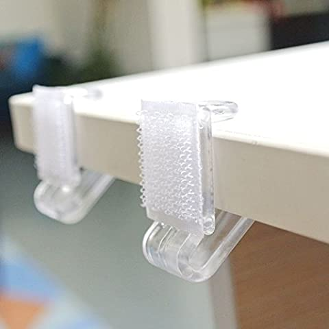 NAVADEAL Table Skirting Clips Tablecloth Clips for Table 1/2
