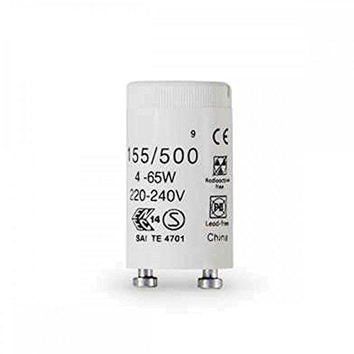 Preisvergleich Produktbild 10 Stück Phillips S10 Ecoclick Starter für Leuchtstoffröhren von 4-65 Watt