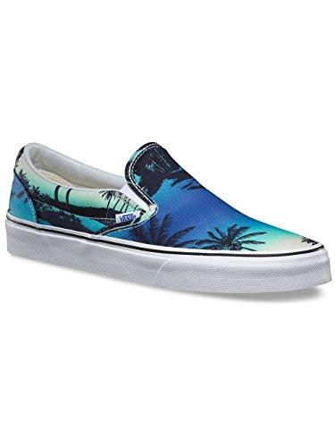VANS - CLASSIC SLIP ON - Van Doren Hoffman blue BLU