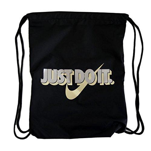 Sacchetto sport (gymsack) nike – graphic nero/d'oro