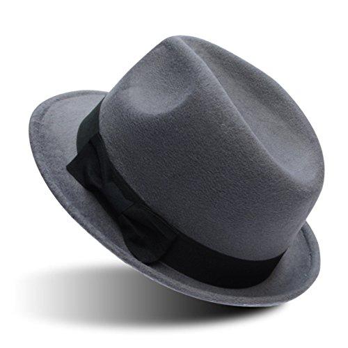 Chapeaux de mode coréenne/Chapeau plat bord British rétro/Chapeaux de fourrure Sir G