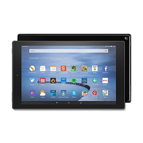 Fire HD 10-Tablet, 25,65 cm (10,1 Zoll), HD-Display, WLAN, 16 GB (Schwarz) - mit Spezialangeboten (vorherige Generation) 16 Gb-tv