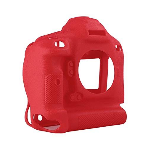 73JohnPol Kameratasche rutschfest verschleißfeste bequem tragbar langlebig für Canon 1DX / 1DX II Silikonhülle kreative (Farbe: rot)
