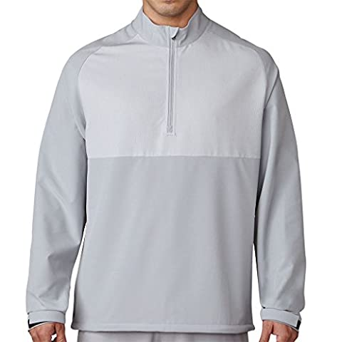 Adidas Competition stretch Wind Veste avec zip de Golf, homme M gris