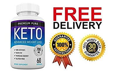 Premium Pure Keto Ketosis Diet Ketogenic Fat Burner (60 capsules) - 1 Month Supply from Premium Pure Keto