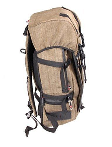 GXS Outdoor Sports Wandern Camping Freizeit Reiten Bergsteigen Taschen Rucksack Retro Fashion Wild - khaki