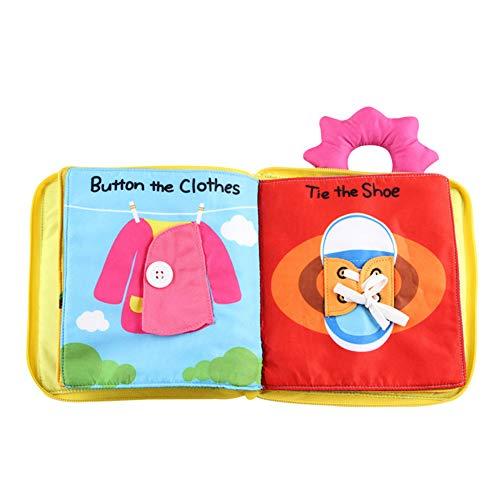 Scrox 1x Libros de Tela para Bebes 0-1-3 años Gracioso...