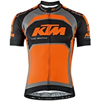 KTM Maglia Factory Team S/S Nero Grigio Arancio (Taglia S)