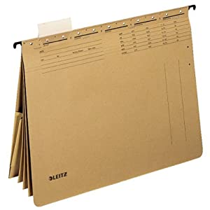 Leitz Alpha 1983-00-00 Hanging File A4 250 g/m² Natural Brown