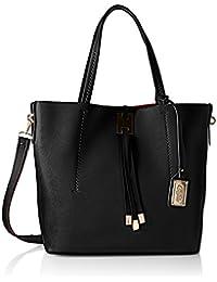 BUFFALO BAG 601909 Leather PU, Bolsa de Medio Lado para Mujer, 14x33x33 cm (B x H x T)