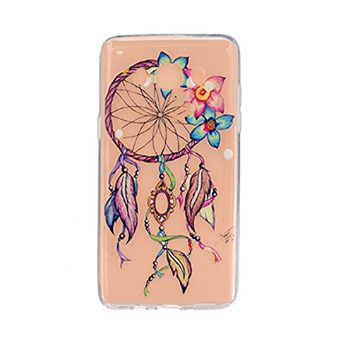 Etui Samsung J5 , Galaxy J5 Etui , Anfire Attrapeur Reves Motif Mode Etui Coque TPU Slim pour Samsung Galaxy J5 (2015) J500FN (5.0 pouces) Mode Flexible Souple Soft Case Couverture Housse Protection A Balloon