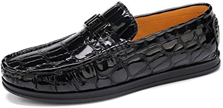 SHIXRAN Uomini Casual Scarpe Estate Nuovo Nuovo Nuovo Spessore Scarpe Mocassini Uomo Vernice Scarpe In Pelle Scarpe Moda Business... | New Style  39f16f