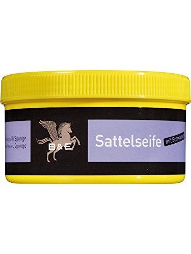 B & E Sattelseife mit Schwamm - 250 ml -