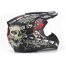 Qianliuk Carretera Moto Casco Adulto Motocross Casco ATV Bike Downhill Racing Casco Cross Cascos