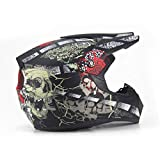 Qianliuk Carretera Moto Casco Adulto Motocross Casco ATV Bike Downhill Racing Casco Cross Cascos