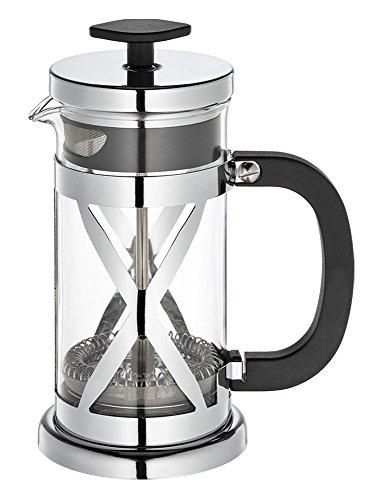 Cilio Kaffeebereiter Gloria, Glas, Silber 14,5 x 33,5 x 14,5 cm