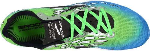 Brooks Mach 14 M, Herren Sportschuhe - Running Blau (Blue/Green/White)