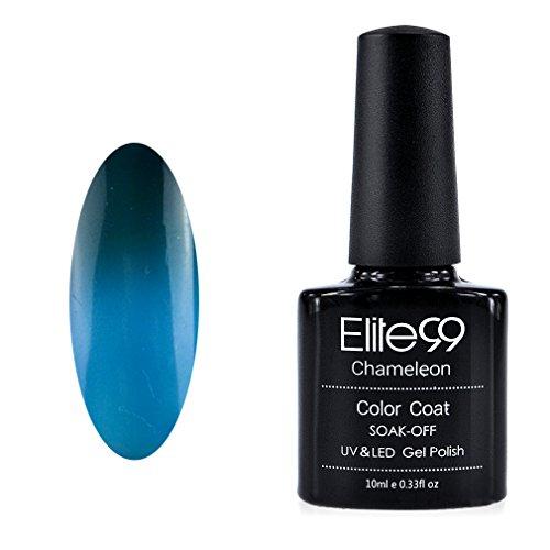 Elite99 Vernis A ongles Température/Soleil Change Caméléon Thermique UV Gel Nail Polish 5747