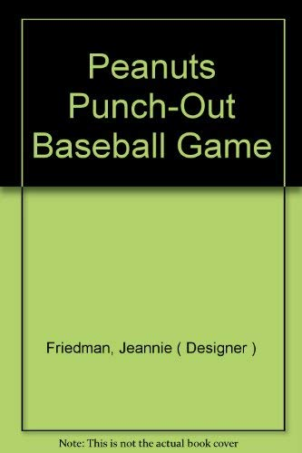 Peanuts Punch-Out Baseball Game -