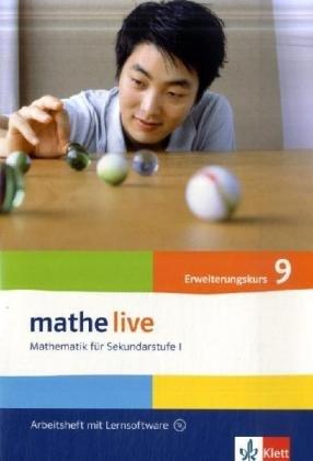 mathe live 9: Arbeitsheft mit Lösungsheft und Lernsoftware Klasse 9 (mathe live. Bundesausgabe ab 2006)