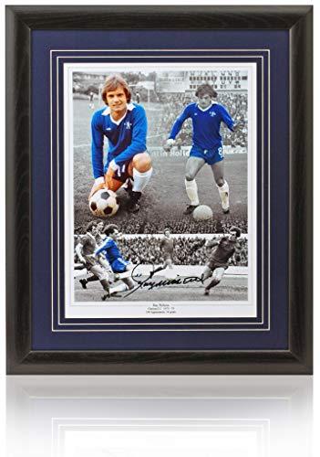 Ray Wilkins Chelsea FC Montage, handsigniert, 40,6 x 30,5 cm