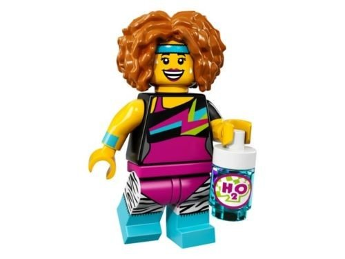 17 Serie (Lego Minifigures Series 17 - #14 DANCE INSTRUCTOR Minifigure - (Bagged) 71018)