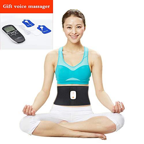 Abnehmen Gürtel, Taille Trimmer Schweiß Gürtel, Taille Trainer Abnehmen Gürtel für Männer & Frauen + Geschenk Stimme Massagegerät