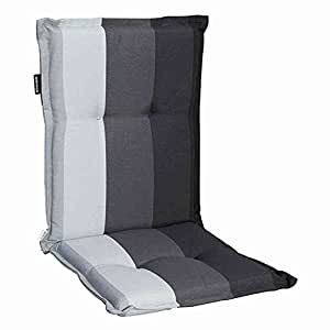 Madison 7MONLC285 Lars Auflage zu Stapelsessel 75% Baumwolle 25% Polyester, schwarz