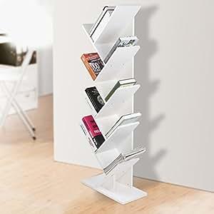 Tag re livres forme arbre original artistique casier biblioth que en bois meuble de rangement - Etageres pour salon bibliotheques bureau ...