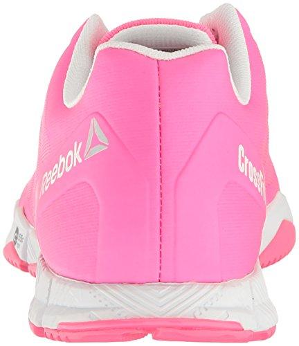 Reebok-Womens-Crossfit-Speed-TR-Running-Shoe-Solar-PinkWhiteSilver-Metallic-85