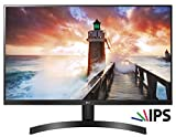 LG 24MK600M Monitor, 24 Pollici, LED IPS Full HD 1920 x 1080, 5 ms, Radeon FreeSync 75 Hz, Multitasking, VGA, HDMI, Borderless, Nero
