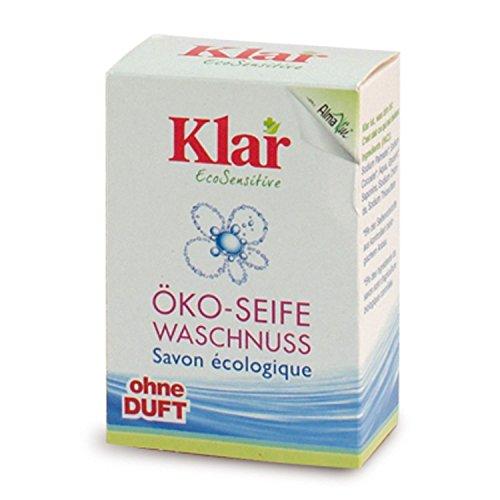 Klar Waschnuss-Seife (100 g) -