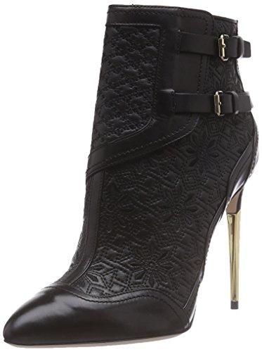 Sebastian S6730 A/18, Stivali modello classico, non imbottiti donna, Nero (Schwarz (vitello nero)), 39