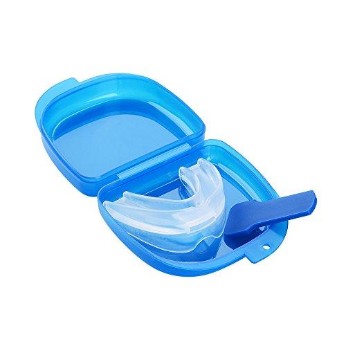 ASIV Professionnel EVA Souple Bouche Gardien pour Anti Snore Anti Ronflement Prévention Bruxisme, Protection Dentaire Gencives pour Contre Grincement des Dents, Bruxisme et Serrement des Dents, Orthèse Contre l'Apnée du Sommeil