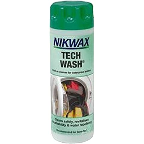 Nikwax Tech Wash In Cleaner For Waterproof Textiles & Wet Weather Clothing 300ml by Nikwax