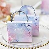 Dreamer Life Utilizzare per Tutte Le Occasioni 2Pcs / Set Sacchetto Regalo Tote Candy Candy Wedding (L, 8x11CM)