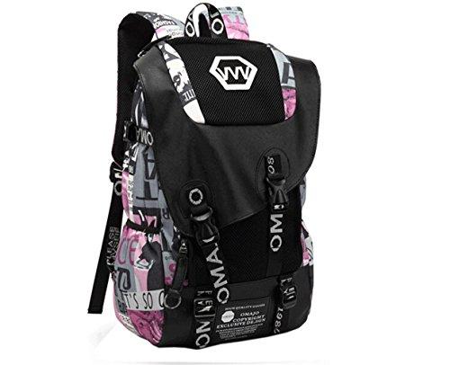 Imagen de wtus hombre gran capacidad de los estudiantes de secundaria la   de tela de tendencia de moda hombres hombros  de viaje bolsas alternativa