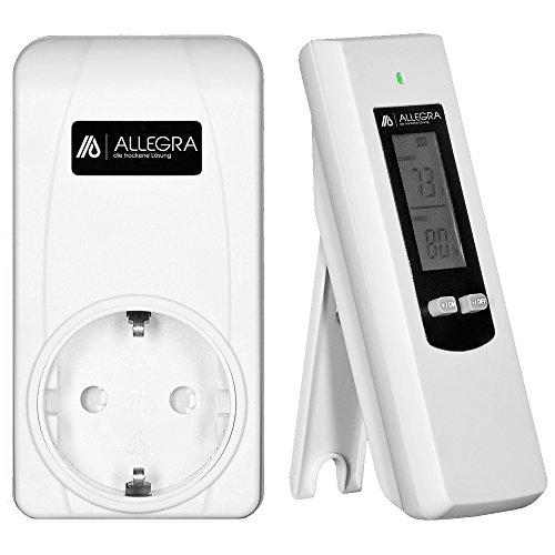Thermostat für Heizkörper Raumthermostat Infrarotheizung mit Fernbedienung Steckerthermostat Heizkörperthermostat