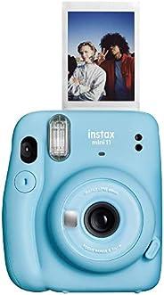 Fujifilm 16654762 Instax Mini 11 Instant Camera, Sky Blue