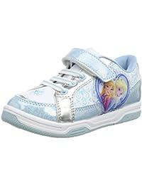 Disney Frozen Ann /& Elsa Kinder Mädchen Blink Licht Turnschuhe Schuhe Sneakers