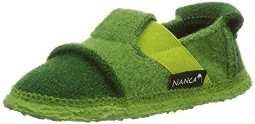 Nanga Berg, Chaussons courts, non doublées garçon Vert (Green 90)