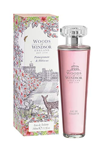 Woods of Windsor, Melograno e Ibisco, Eau de Toilette da donna, 100 ml