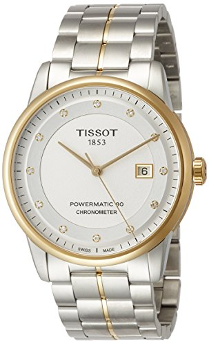 Tissot Reloj Analógico para Mujer de Automático con Correa en Acero Inoxidable T086.408.22.036.00