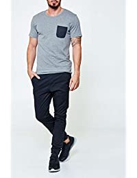 Selected Herren T-Shirt grau grau