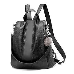 Idea Regalo - StillCool Zaino Donna Borse a zainetto Borse a spalla Casual Multifunzione antifurto Borse Backpack Daypack Viaggio lavoro (PU)