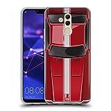 Head Case Designs Speed Rot Klassische Automobile Soft Gel Hülle für Huawei Mate 20 Lite
